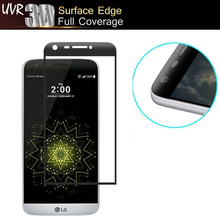 0.26MM 3D Full Cover Screen Protector Tempered Glass For LG G5 SE H830 H850 H840 H845 Arc Curved Film for LG G5 Glass