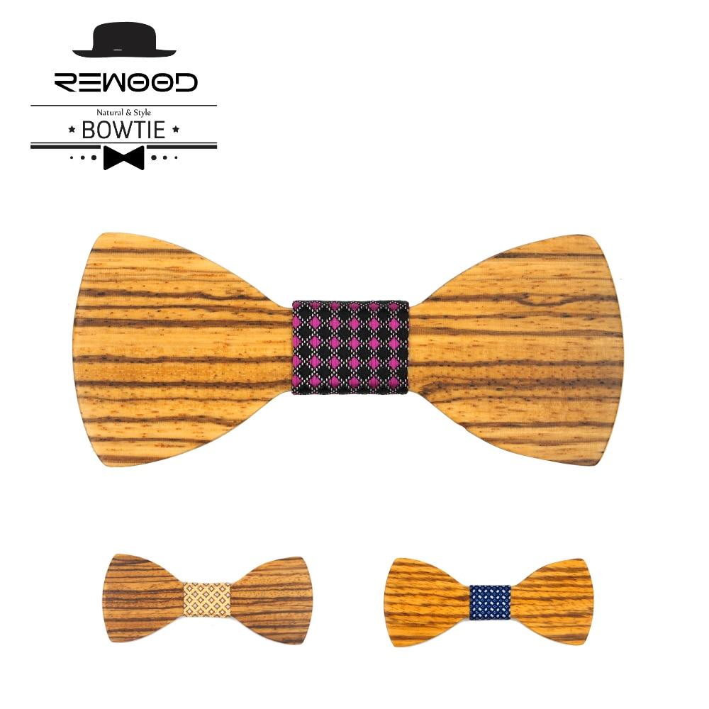 Rewood Umweltfreundliche Zebra Holz Schmetterling Gravata Donald ...