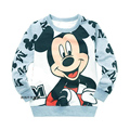 Cotton Spring Kids Baby Girls Clothes Tshirts Children's Blouse Long Sleeve Cartoon Casual  Cute