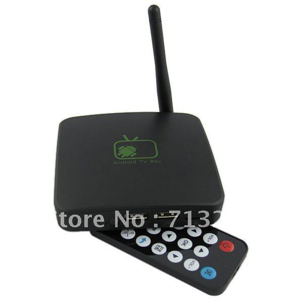 Portable Android 2.3 TV-Box Mini Size HDMI Set Top Box Media Player -Black