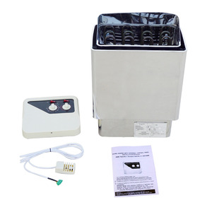 6KW 220V Stainless Steel Sauna Heater Stove Wet & Dry Internal Built-in Control Firmer(China)
