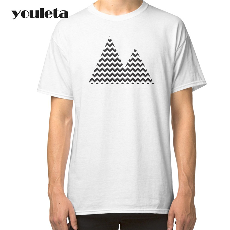 2018 2017 Mens T-Shirt Summer Short Sleeve Style Adults T Shirt Twin Peaks Man Plus Size Tees