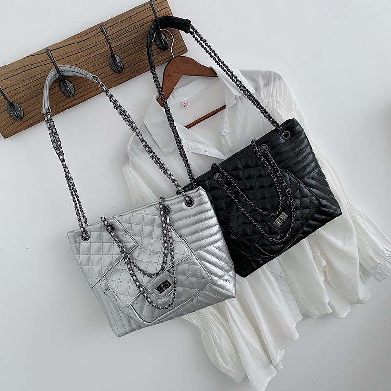 large size women handbag luxury handbags bags designer purses and crossbody for Casual Tote Chains