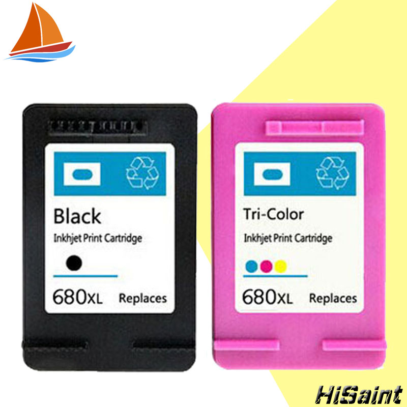 Hisaint for <font><b>HP</b></font> 680 <font><b>Ink</b></font> Cartridge Apply To 3638 <font><b>1115</b></font> 1118 3636 2135 2138 3635 <font><b>Ink</b></font> Cartridge image