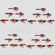 21pcs MOC Weapon Pack LegoINGlys Military Building Blocks SWAT Police Soldiers Figure WW2 Gun Builder Series Army Accessory Toys цена