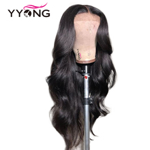 12x3 Body Wave Lace Front Human Hair Wigs For Black Women Pre Plucked Hairline With Baby Brazilian Remy 120% Density