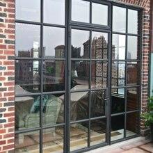 Передние входные двери со стеклянными стальные наружные двери со стеклянной сталью и стеклянными дверями внешние стальные входные двери