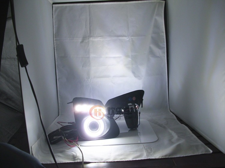 eOsuns COB Angel eye + LED დღისით - მანქანის განათება - ფოტო 2