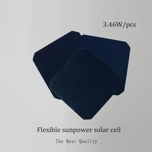 Image 3 - Cellule solaire Flexible puissance maximale 3.46 W/pcs monocristallin 5 x 5 Sunpower cellule solaire pour bricolage Flexible panneau solaire chargeur de voiture