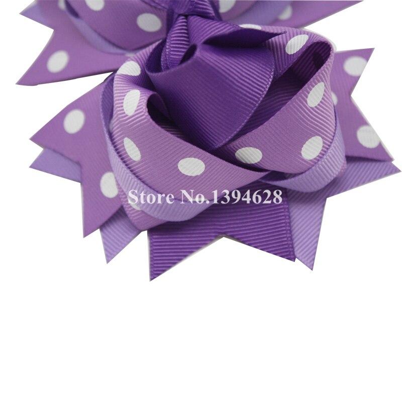 Përkuljet Tuaja 1PC 5.5Inheshe Dritat e purpurta të purpurta Polka - Aksesorë veshjesh - Foto 3