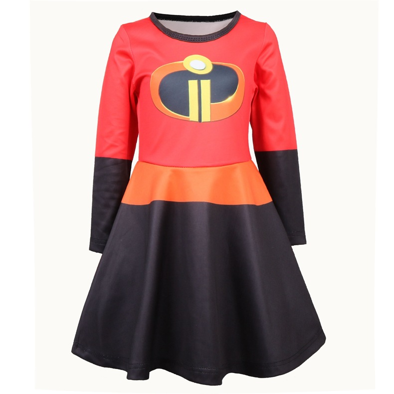 The Incredibles Costumes Helen Parr Dresses Cosplay 3D Printing Lightning Tights Superwoman skirt super hero costume