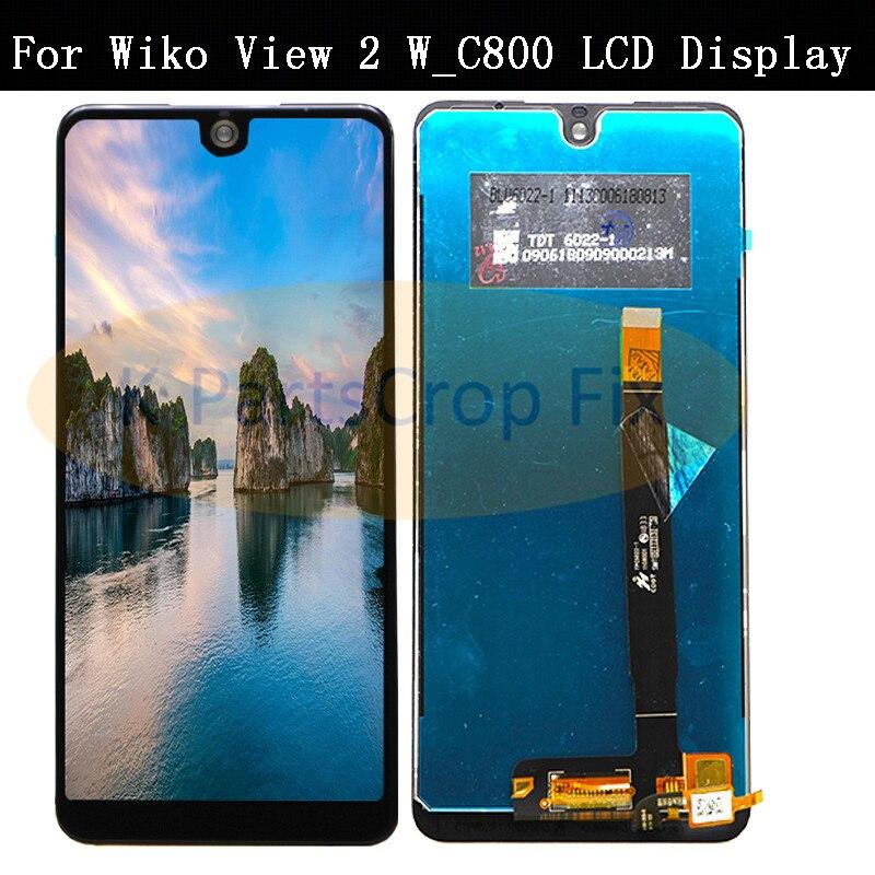 Pour Wiko View 2 w_c800 écran LCD avec écran tactile numériseur téléphone portable accessoires pour Wiko View 2 Lcd W_C800 écran LCD-in Écrans LCD téléphone portable from Téléphones portables et télécommunications on AliExpress - 11.11_Double 11_Singles' Day 1