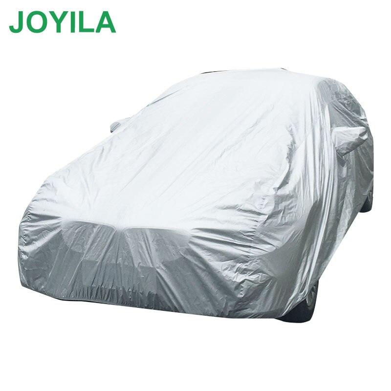 Waterproof Car Cover Custom Size SUV Sedan Full Car Covers Snow Protective Sun Rain Resistant Protection