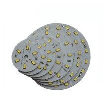 10X Заводская поставка 12В Входная круглая алюминиевая печатная плата с 5630SMD светодиодный светильник 3 Вт/5 Вт/7 Вт/9 Вт/12 Вт/15 Вт/21 Вт