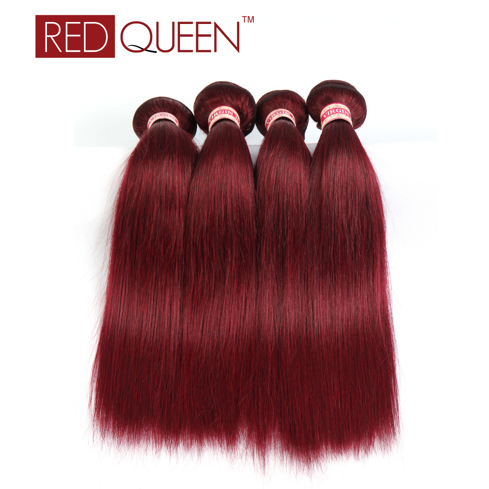 Red Queen font b Brazilian b font font b Straight b font font b Hair b
