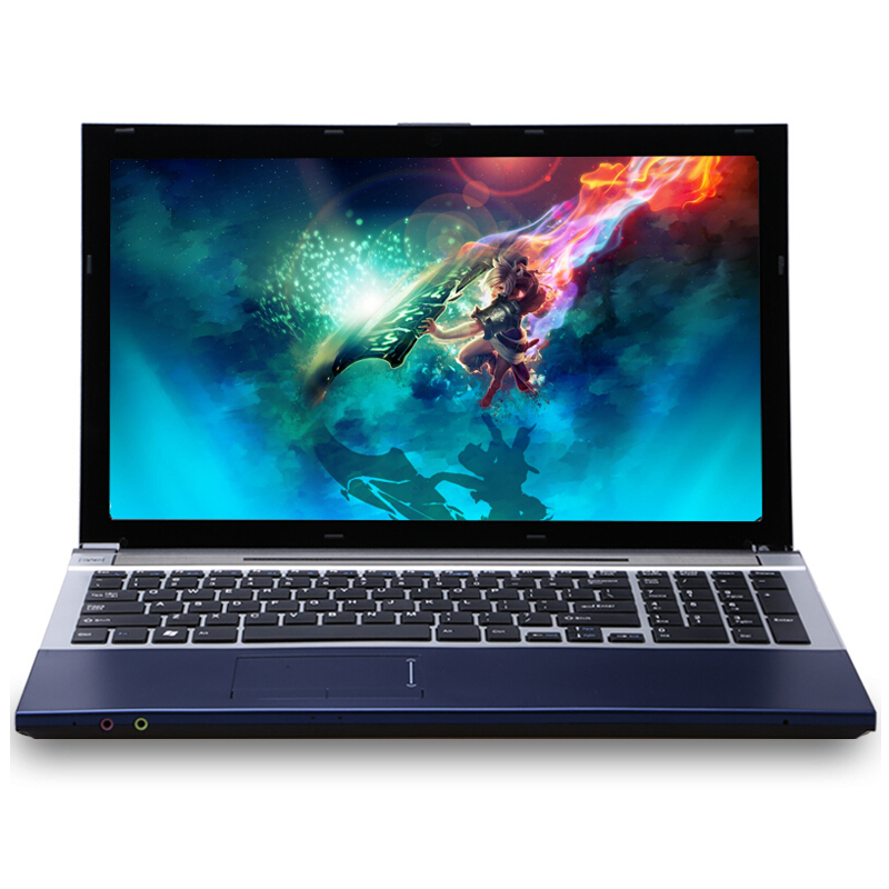 Image 2 - 15.6inch Intel Core i7 8GB RAM 2TB HDD Windows 7/10 System DVD RW RJ45 Wifi Bluetooth Function Fast Run Laptop Computer Notebook-in Laptops from Computer & Office
