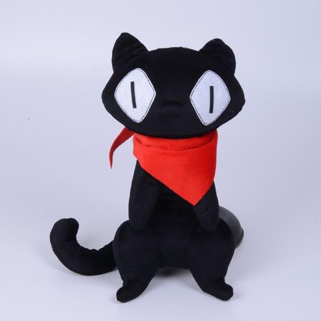 Nichijou Gato Negro 32 Cm Sakamoto Plushie Hechos A Mano De Peluche