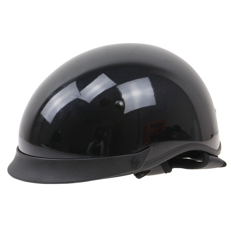 THH Harley Helmet Vintage Half Face Motorcycle Helmets Casco Casque Retro DOT Approval Moto Helmets L XL XXL Available