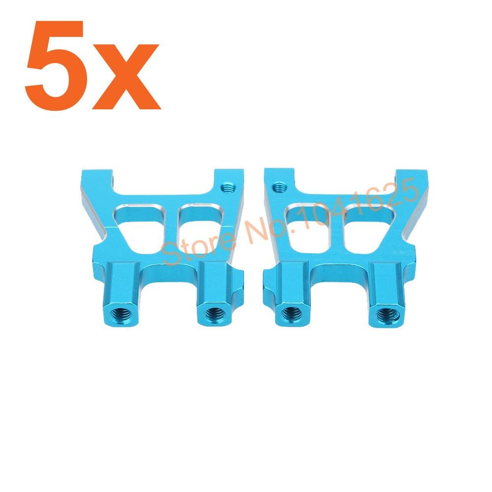 Wholesale 5Pairs/Lot 2P/Pair HSP 122021(02142) Alum Rear Lower Suspension Arm for 1/10 RC Model Car 4WD CNC 94122 XSTR POWER  цены