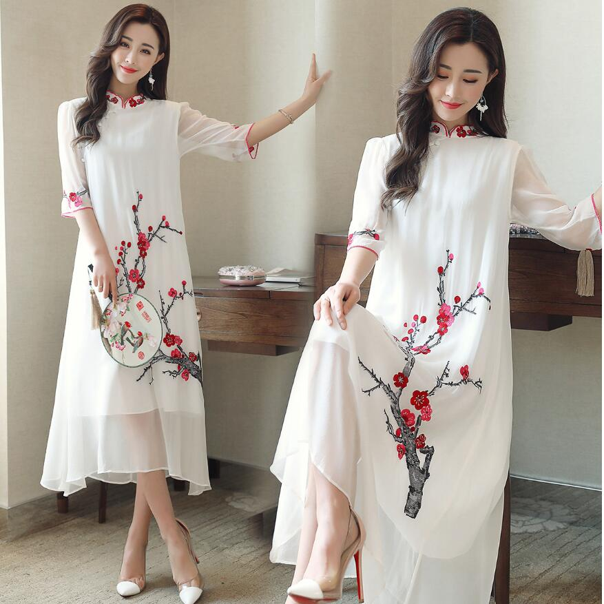 aliexpresscom buy chinese traditional clothing plum