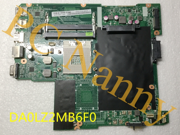 DA0LZ2MB6F0 For lenovo IdeaPad Z480 System Board Laptop Motherboard DDR3 2xSO-DIMM HM76 HD Graphics
