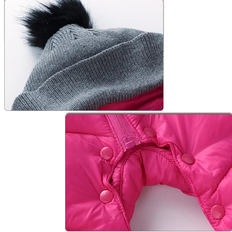 HH Bebé recién nacido ropa de invierno Bebé traje de nieve - Ropa de bebé - foto 5