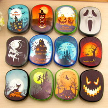 10pcs Mix New High quality contact lens case Cute Halloween