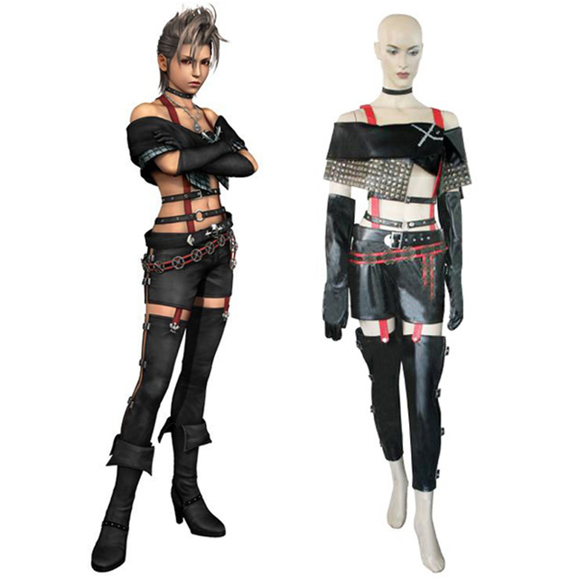 final fantasy x 2 paine cosplay uniform full set womens halloween costume custom made
