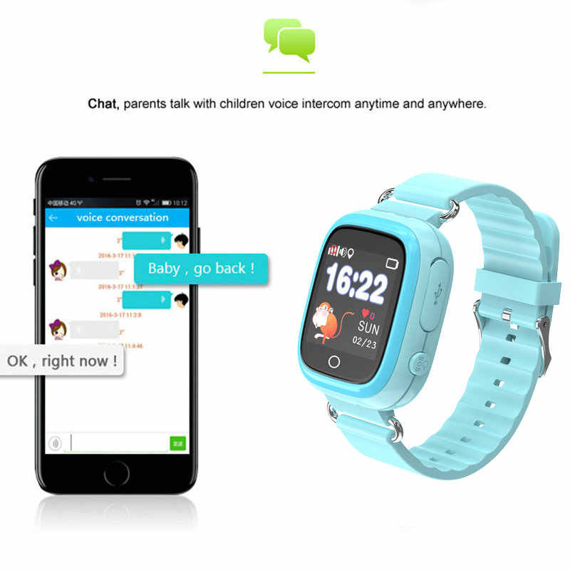 Q90S Smart Watch GPS Child Waterproof Phone Position Children Watch Color Touch Screen WIFI SOS Smart Baby Watch Andriod IOS