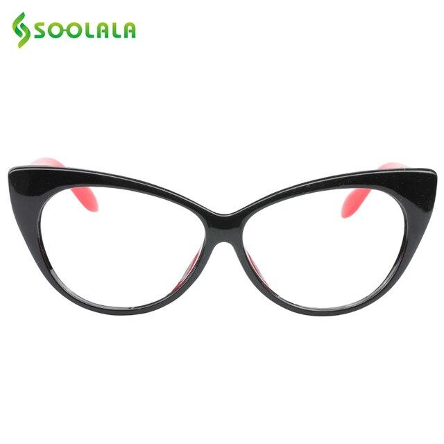 SOOLALA Cat Eye Reading Glasses Women Men Lightweight Presbyopic Reading Glasses +0.5 0.75 1.0 1.25 1.5 1.75 2.0 2.5 3.0 3.5 4.0