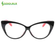 SOOLALA kot oko czytanie okulary kobiety mężczyźni lekki Prezopia okulary do czytania + 0 5 0 75 1 0 1 25 1 5 1 75 2 0 2 5 3 0 3 5 4 0 tanie tanio W SOOLALA Gradientu Kobiety mężczyźni Unisex Biały Plastikowe 4 8 cm 5 8 cm 6-42-258 Tanie okulary do czytania Okulary do czytania dla kobiet