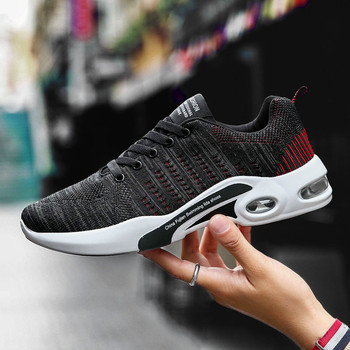 837ae4aa Модная повседневная мужская обувь; 45, 46, 47; уличные мужские кроссовки;  Мужская обувь для ходьбы; брендовая удобная обувь для отдыха на плоско.