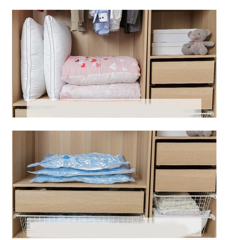 OUNONA 11 шт. вакуумный мешок для хранения утолщенный сжатый мешок экономии пространства упаковочный мешок с ручным насосом для одеяла Одежда Одеяло
