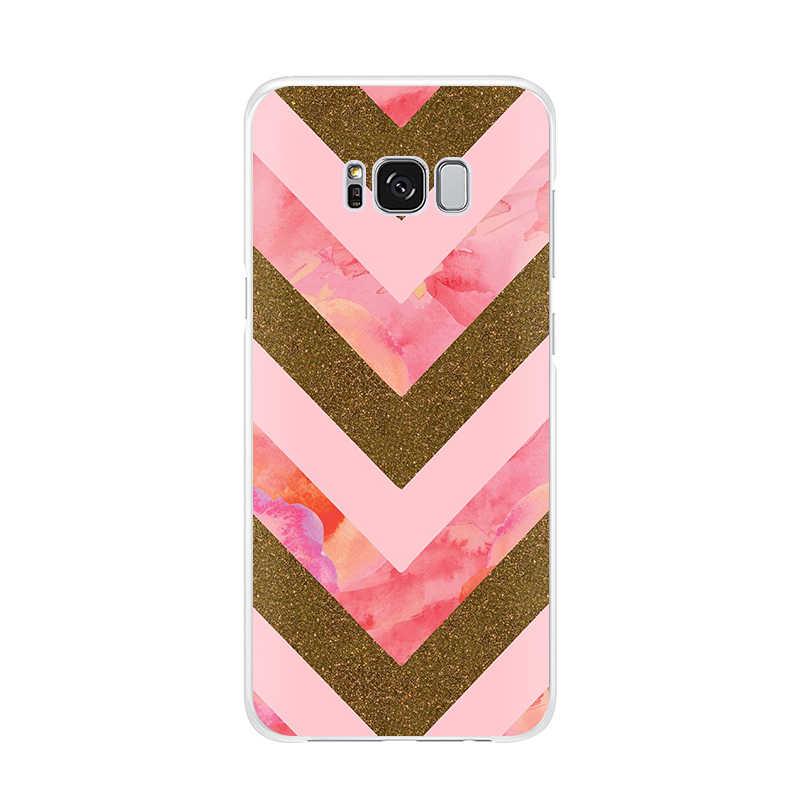 Groen Roze Goud Glitter Leuke Zachte Tpu Telefoon Geval Voor Samsung Galaxy S10 S10plus S10lite S9 S9plus Note9 Note8 S8 s8Plus S7edge 6
