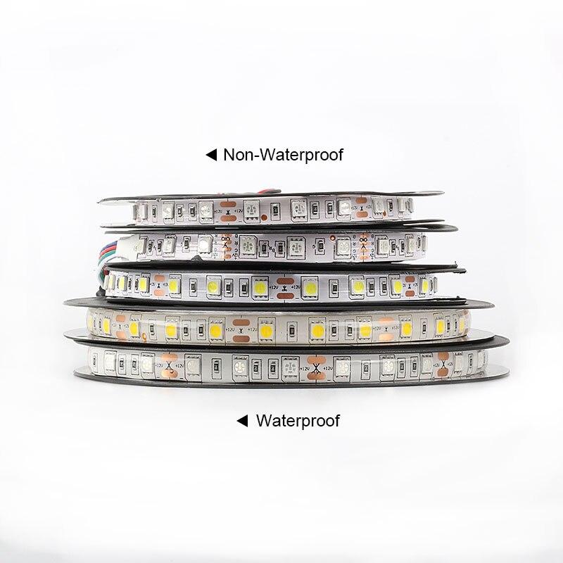 Tiras de Led conduzida luz 5 m 60 Geração de Energia : Sempre Ligado