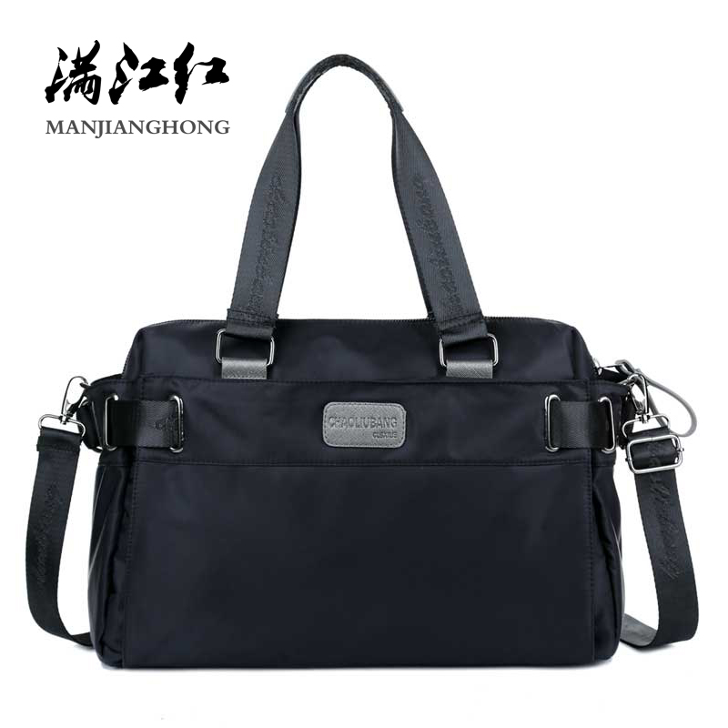 Mode imperméable à l'eau en Nylon dames sacs à main sacs à bandoulière décontracté sacs à bandoulière pour femmes hommes fourre-tout sacs de voyage Messenger 15-213