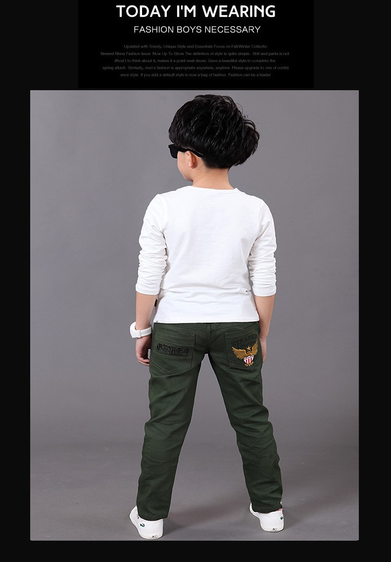The ACE Family Girl Autumn Winter Long Trousers Casual Long Pants