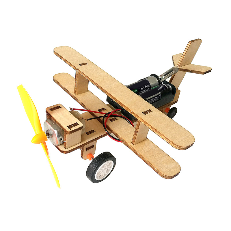 Kids Arts And Crafts For Kids Aircraft Airplane Model Plane Toy Glider Machine Cars Boy Kids Toys Children Toys Wooden Toddler