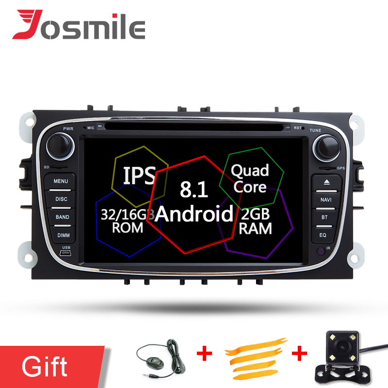 4 Core Car Radio DVD For Ford Focus II 2008 2009 2010 2011 Mondeo C Max