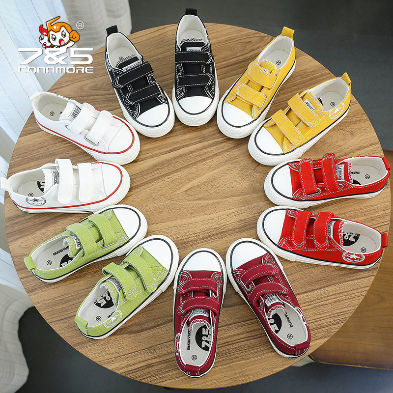 Fashion kids flat canvas bebe sneakers kinder children shoes girl boy enfant chaussure enfant tenis infantil sapato infantil 2016 brand children shoes bebe leather flower patter spliced shoelace girls baby first walkers sneakers shoes tenis bebe kids