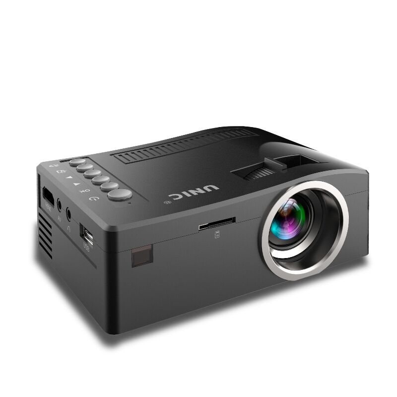 UNIC UC18 Mini Projector Pico Portable Projector HDMI Home Theater Beamer Multimedia Video Support Full HD 1080P 2015 newest original mini pico portable full hd 3d projector hdmi home theater beamer multimedia proyector full hd 1080p video