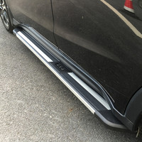Maremlyn Aluminum Alloy Side Door Sill Plate Auto Running Board For Escape/ Kuga 2012 2013 2014 2015 Side Step Bar
