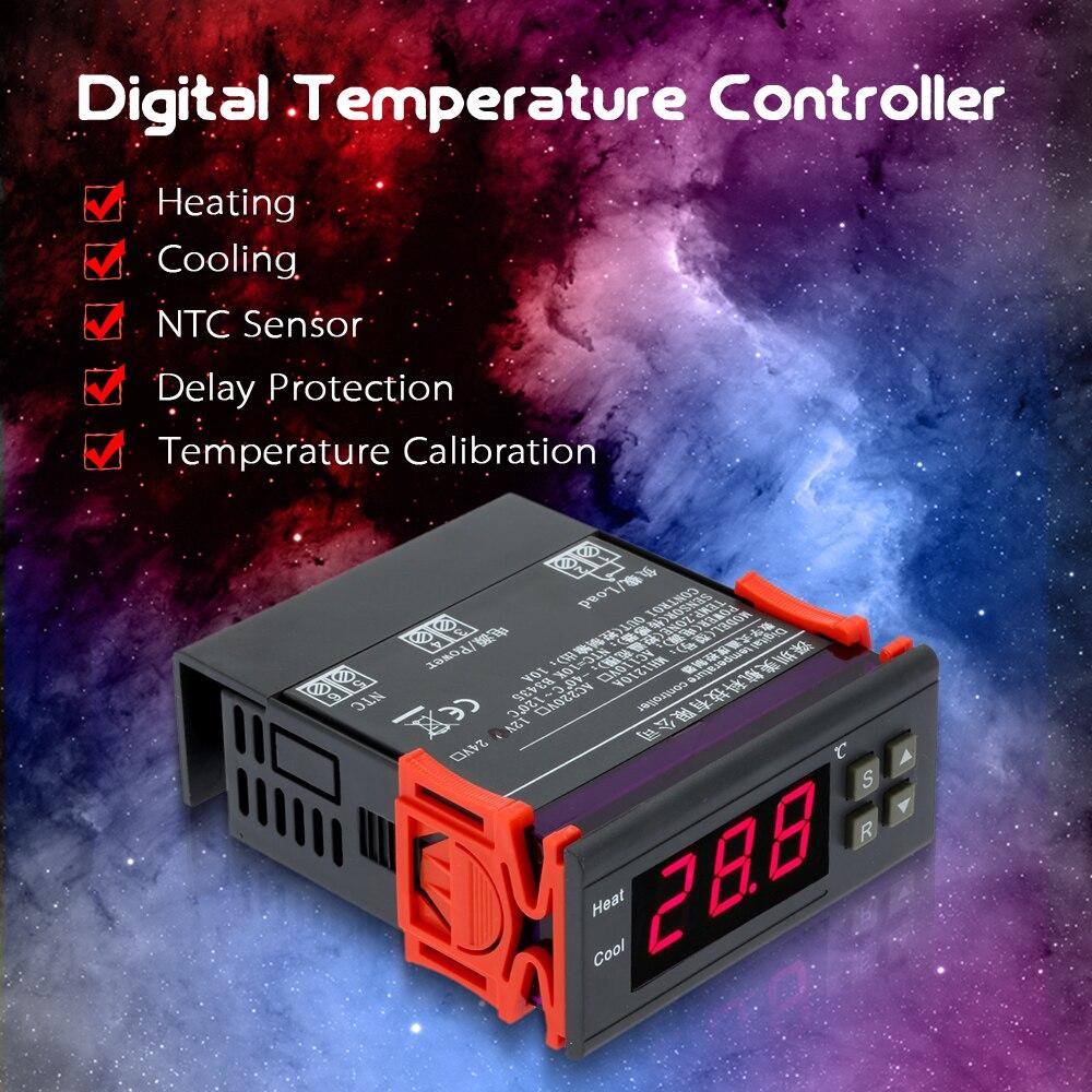 Affichage de la température thermomètre eau eau de refroidissement 12 V compl avec Capteur 12 V