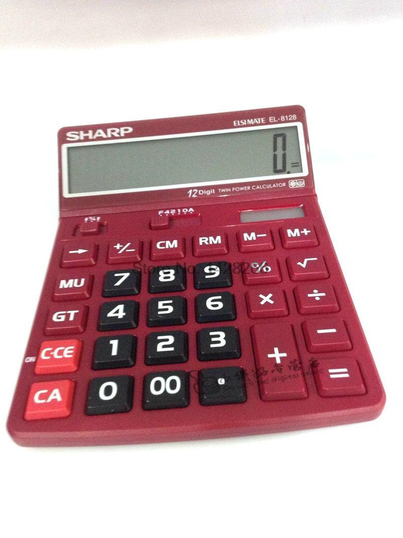 Sharp EL 8128 font b Calculator b font font b Calculator b font definition big screen