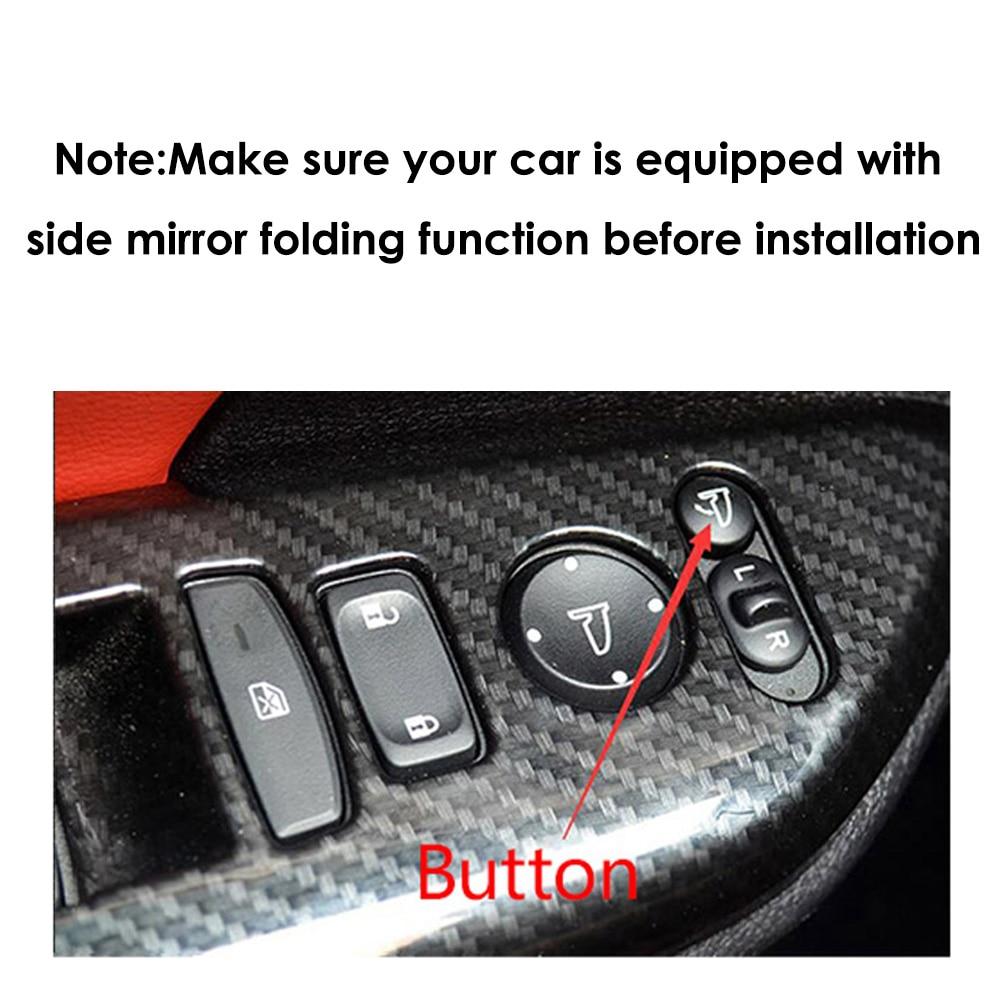 US $43 87 |CHSKY Car Side Mirror Folding Kit for Mazda 3 Axela 2013 Now  Auto Side Mirror Folding System Rear View Mirror fold Car Styling-in Mirror  &