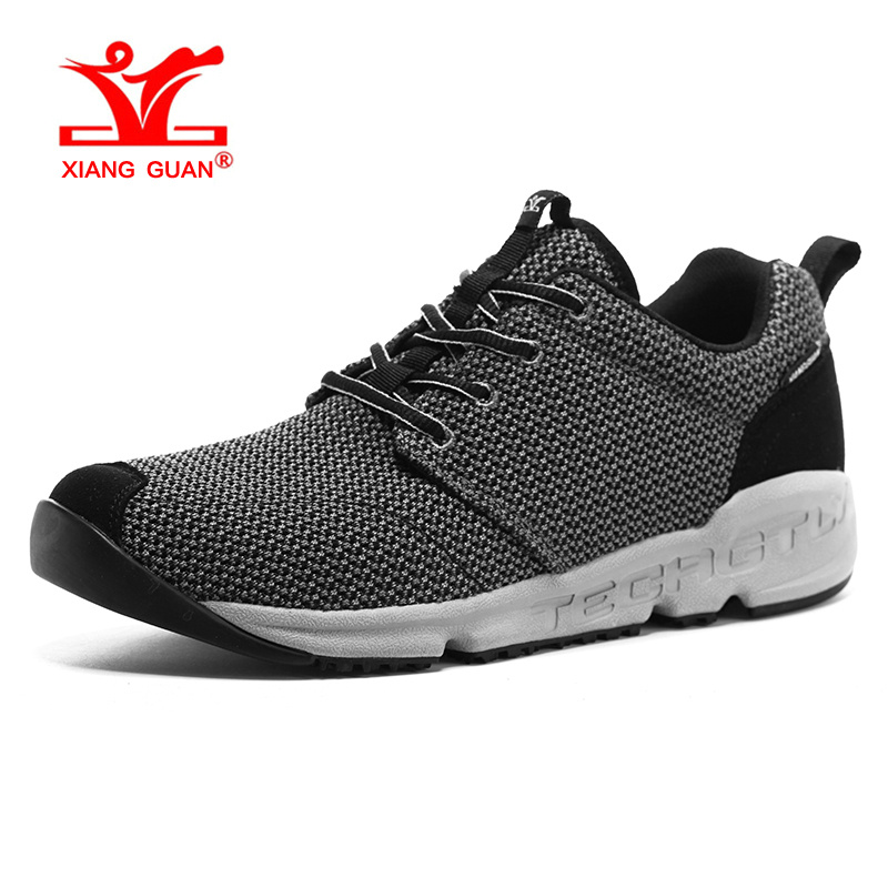 XIANGGUAN Summer Man Running Shoes Sport Sneakers Mesh Outdoor Walking Sneakers Athletic Trainers Breathable Damping male shoe  2017 mens running shoes breathable male outdoor walking sport shoes new man athletic sport sneakers for adults