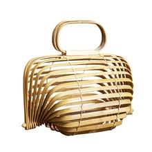 Women Travel Bamboo beach Vacation Totes bags Handbag summer bag