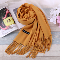 TieSet Luxury Brand Scarf Unisex 2016 Female Male Best Quality Wool Cashmere Scarf Pashmina Tassels Women