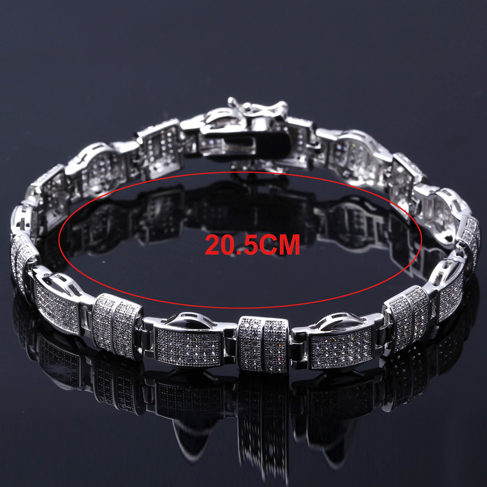 Image 5 - 20.5cm long rectangle Bracelets