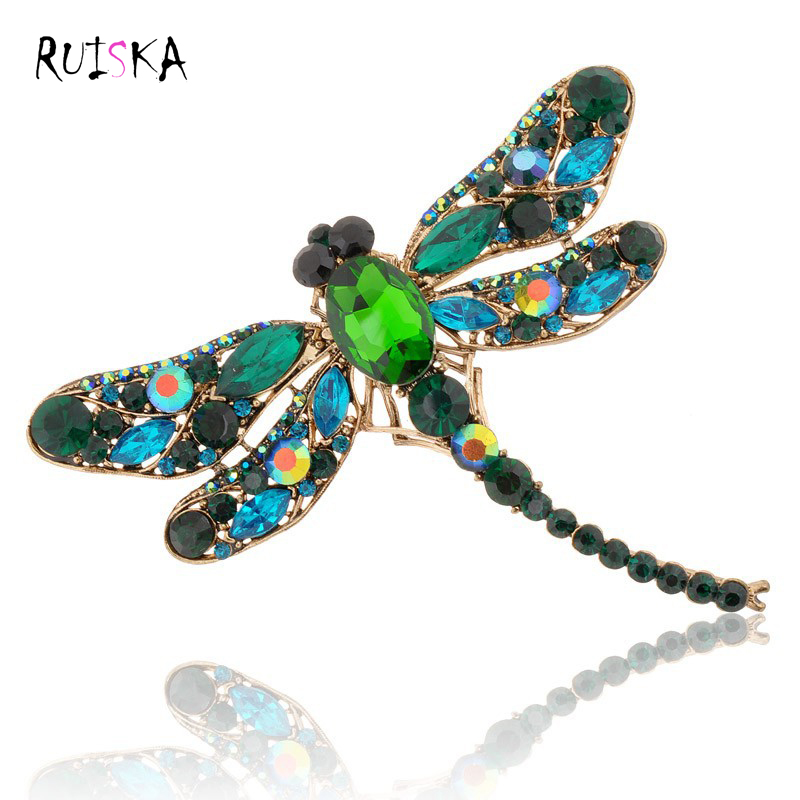 Hot 2015 New Fashion Jewelry Broochs 8 Colors Vintage ...